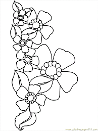 Small Picture Flower Coloring Pages 19 Coloring Page Free Flowers Coloring
