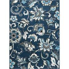 tremont navy blue 7 ft 10 in x 10 ft 2 in