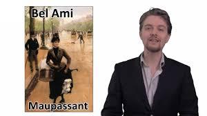 Maupassant Bel Ami Commentaire De Texte En Francais Youtube