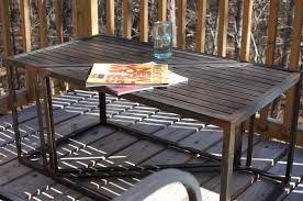 industrial metal and wood furniture. These Products Range From Coffee Tables, Dining Tables And Side That Feature Styles In Mid Century Modern Hairpin Legs To An Industrial Steel Pipe Metal Wood Furniture