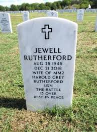 Jewell McRoberts Rutherford (1948-2018) - Find A Grave Memorial