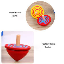 Wooden Spinning Top Game 100 Sets of Wooden Spinning Top Colorful Beyblade Spinning Top Funny 69