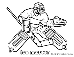 Small Picture winter Hockey Coloring Pages free printable Enjoy Coloring