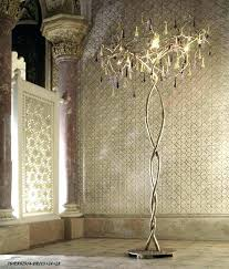 chandelier style floor lamp inspirational lamps or restoration hardware with glas
