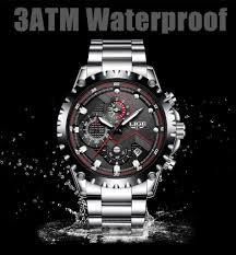 <b>LIGE Watch Men</b> Fashion Sport Quartz Clock <b>Mens Watches Top</b> ...