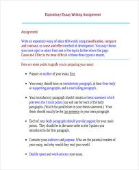 essay writing examples short expository essay