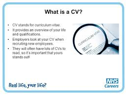 What Is A Curriculum Vitae Simple What Is A Cv Cv Stands For Curriculum Vitae Release Like Ninja Co