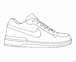 Spectacular Jordan Shoe Coloring Pages 69 In With Jordan Shoe
