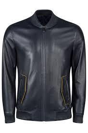 Кожаная <b>куртка ROCCOBAN</b> арт RBAK10083M_NAVY NAVY ...