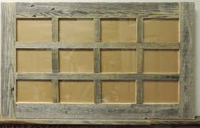 rustic picture frames collages. Perfect Rustic Rustic Reclaimed Barn Wood 12 Photo Picture Collage Frame For 4X6 Pictures Inside Frames Collages