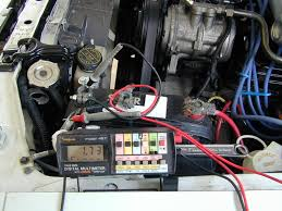 testing battery and charging system 12v Dc Charging Car Alternator Diagram measuring electrical system leakage current 24 Volt Alternator Charging System