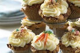 Carrot Walnut Cupcakes With Lemon Buttercream Frosting California