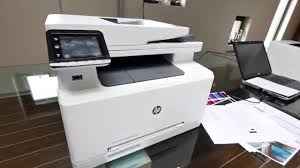 Hp Color Laserjet Pro Mfp M277 Hands On 4k Uhd Youtube