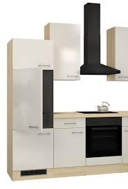 Eckküche FLORENZ - L-Küche ohne E-Geräte - Breite 280 x 170 cm ...