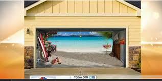 garage door wrapsGarage Door Decals Garage Door Decals Make Your Neighbors Jealous