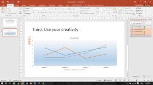 Powerpoint Chart Animation Powerpoint Tutorial How To Make Line Chart Animation Cara Membuat Animasi Diagram Garis