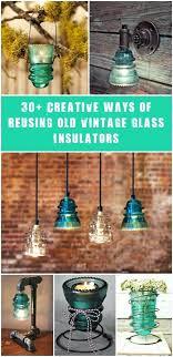 glass insulator lights creative ideas using vintage glass insulators glass insulator pendant lights