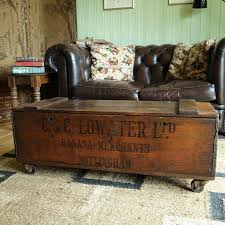 stylish antique trunk coffee table steamer with regard to design 12