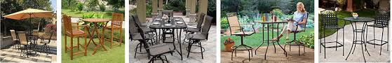 best outdoor bar height table