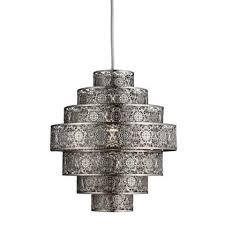 moroccan nickel easy fit pendant