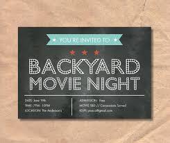 Movie Night Invitation Templates Chalkboard Invitation Template 43 Free Jpg Psd Indesign Format