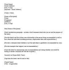 Personal Character Letter Rome Fontanacountryinn Com