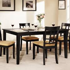 Weston Home Tibalt Black Dining Table - 60 in.