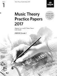 Practice Paper Music Theory Practice Papers 2017 Abrsm Grade 1 Abrsm 9781786010766