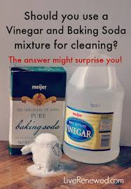 is a vinegar and baking soda mixture effective for cleaning the answer might surprise you
