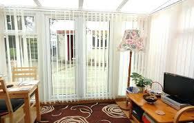 vertical blinds for sliding glass door wood patio doors wooden slat