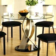 small round glass table glass top dining room sets dining room sets glass table tops the