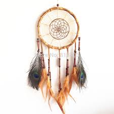 Asian Dream Catcher 100pc Free Shipping Native American Style Feather Dream Catcher 15