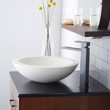 granite vessel sinks  bathroom ideas  installing modern vessel sinks