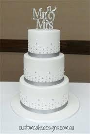 Silver Wedding Cake Designs Kokopelligroovecom