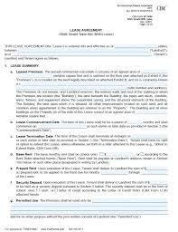 Basic Rental Agreement Template Free Printable Forms To Download ...