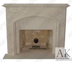 Limestone Fireplace Mantel  All Architecture And Design Limestone Fireplace Mantels