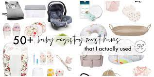 50 Baby Registry Must Haves For 2021 Happily Inspired