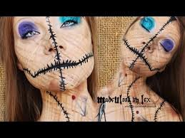 voodoo doll makeup tutorial original