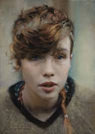 Ella Luca Indraccolo contemporary figurative art beautiful.