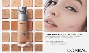 L Oreal True Match Powder Color Chart Bedowntowndaytona Com