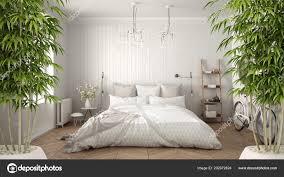 Natural Bedroom Interior Design Zen Interior Potted Bamboo Plant Natural Interior Design