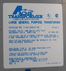 engineering photos videos and articels engineering search engine acme transformer 480 208 120