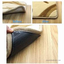 rug gripper 4 pcs anti curling non slip rug grippers pad keep rugs in place
