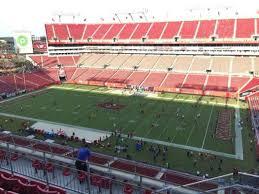 Raymond James Stadium Seating Chart Club Level Raymond James Stadium Section 314 Home Of Tampa Bay