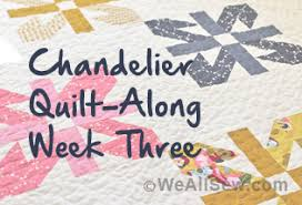 Chandelier Quilt Along: Week Three – Quilting   WeAllSew &  Adamdwight.com
