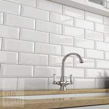 quarndon bone kitchen wall tile