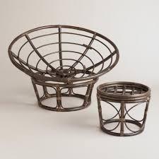 Espresso Papasan Chair Frame. Previous. v2