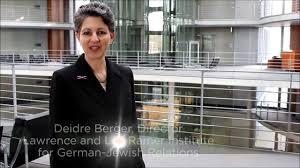 "AJC's Deidre Berger ""Live From..."" Berlin - YouTube"