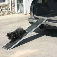 dr 0 ramp lucky dog aluminum folding dog ramp 1