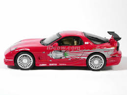 mazda rx7 fast and furious. 1993 mazda rx7 diecast model car rx7 fast and furious